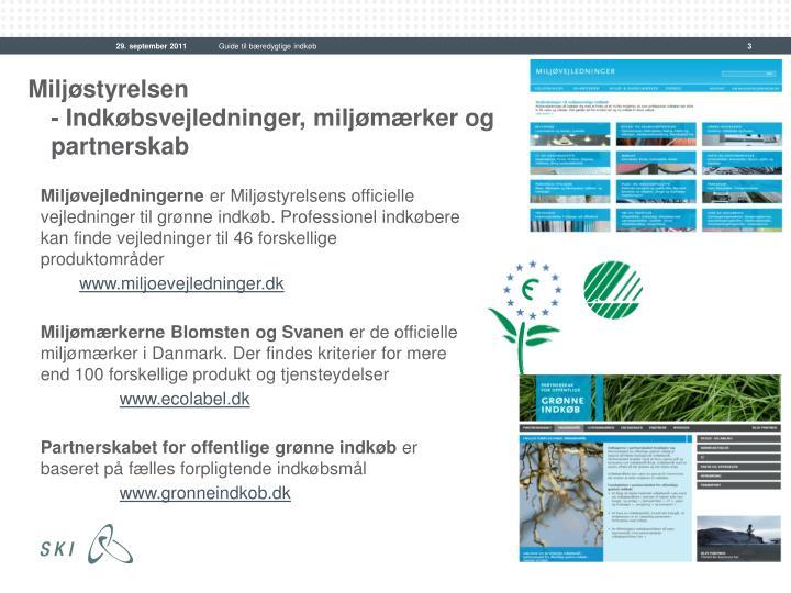 Guide til bæredygtige indkøb