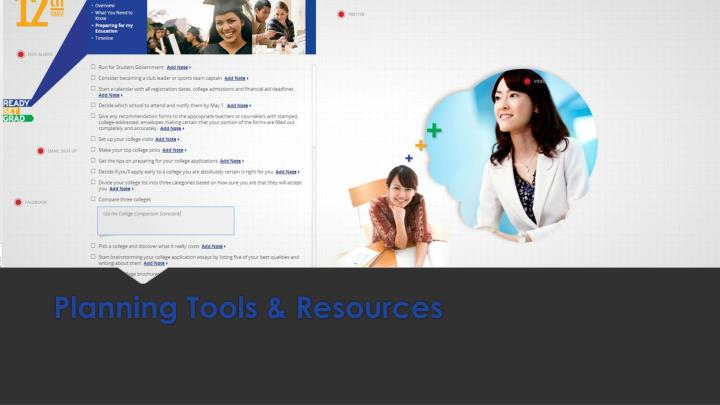 Planning Tools & Resources