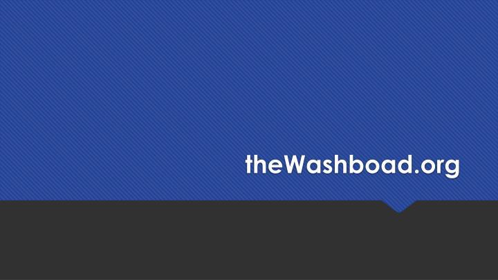 theWashboad.org