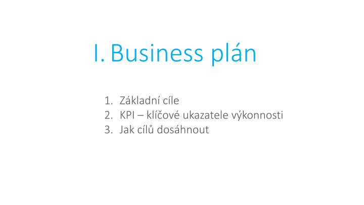 Business plán