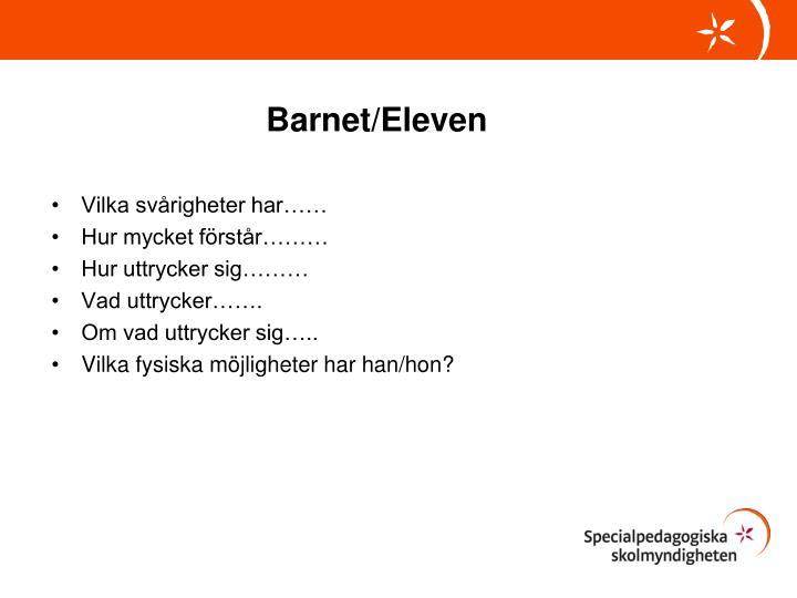 Barnet/Eleven
