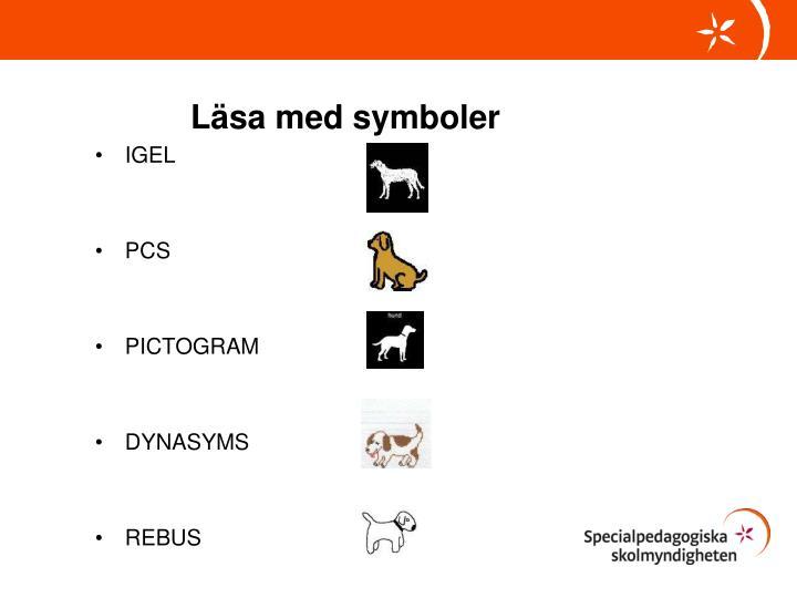 Läsa med symboler