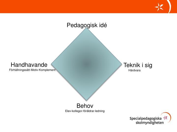 Pedagogisk idé