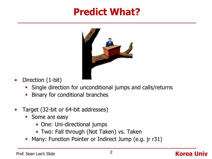 Predict what
