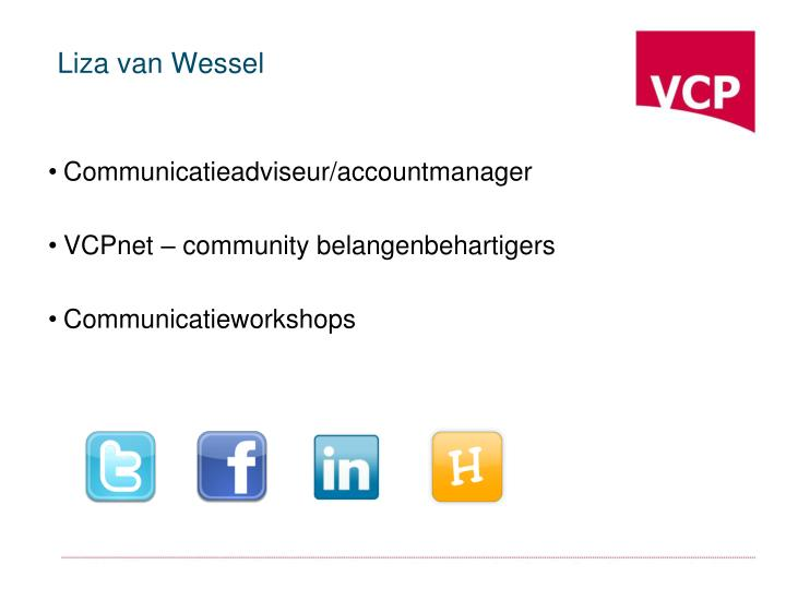 Liza van Wessel