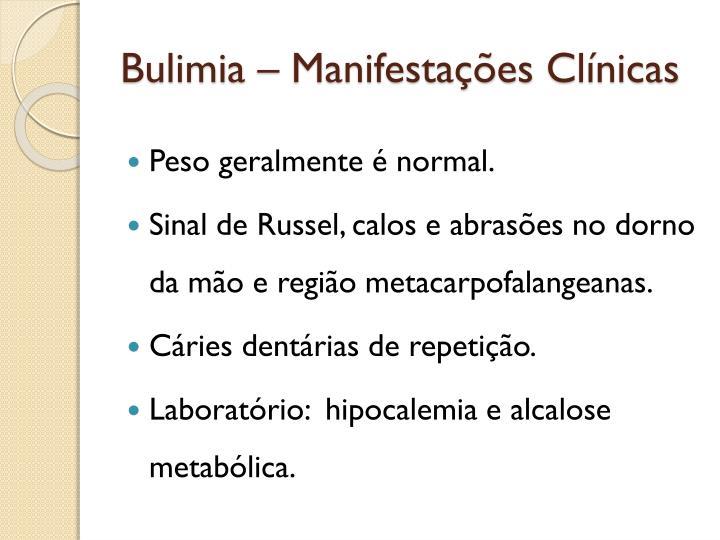 Bulimia –