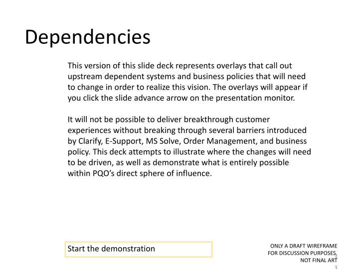 Dependencies