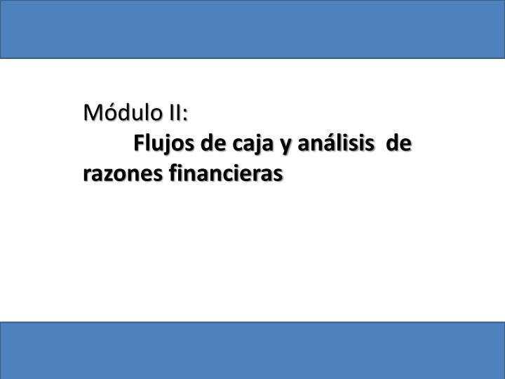 Módulo II: