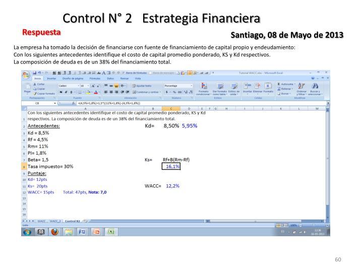 Control N° 2   Estrategia Financiera