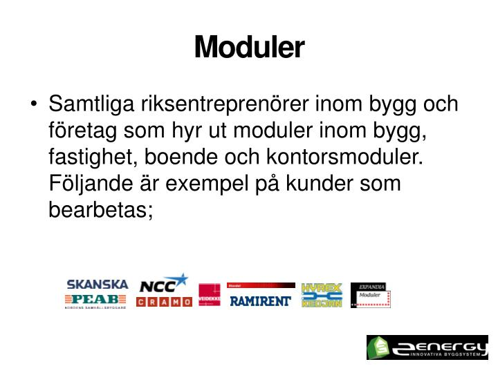 Moduler
