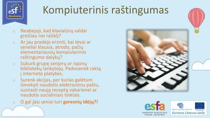 Kompiuterinis raštingumas