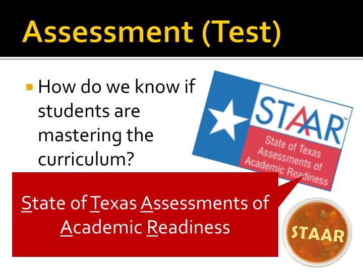 Assessment (Test)
