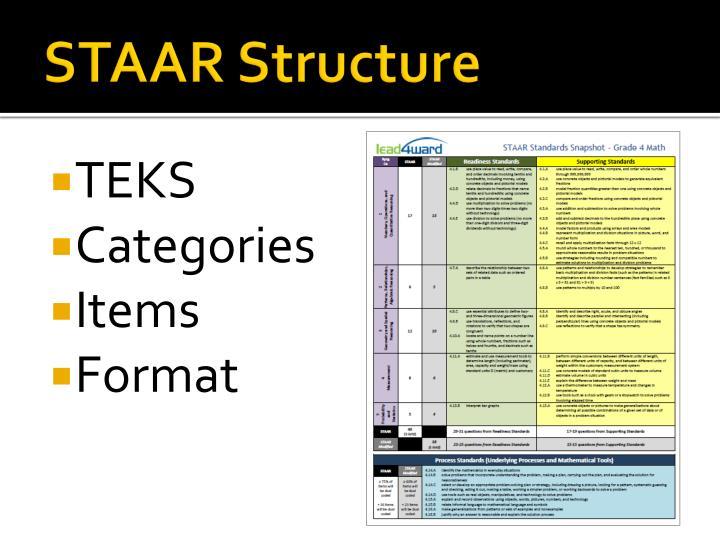 STAAR Structure