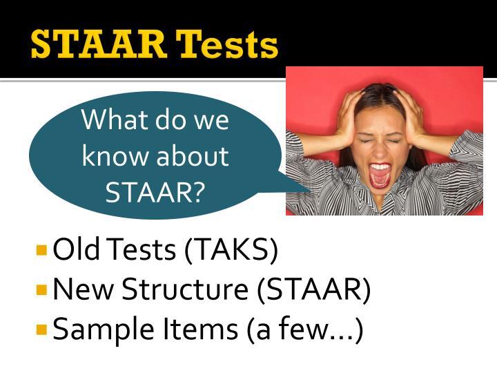 STAAR Tests