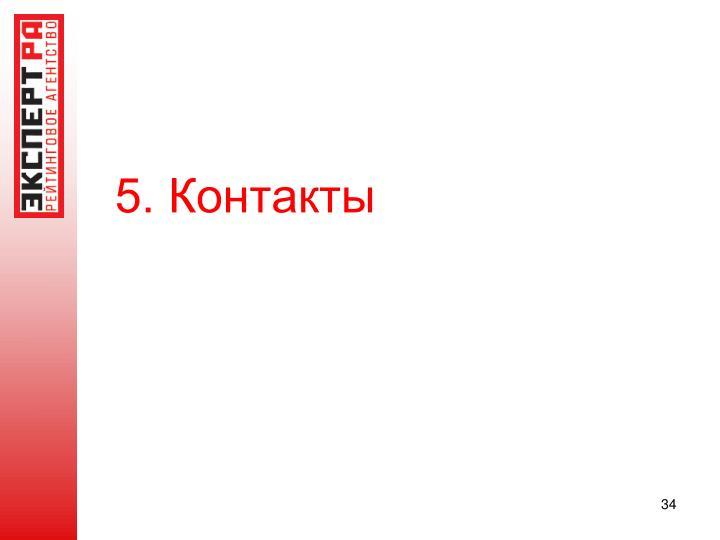 5. Контакты
