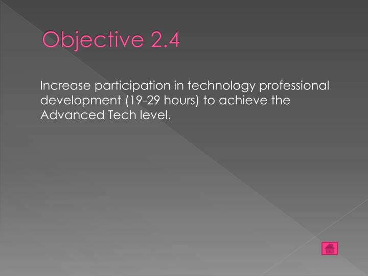 Objective 2.4
