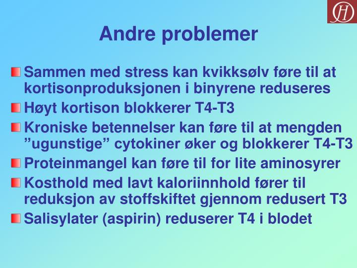 Andre problemer