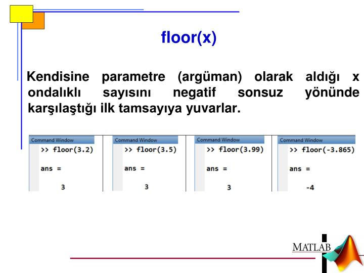 floor(x)