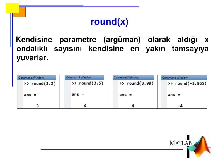 round(x)