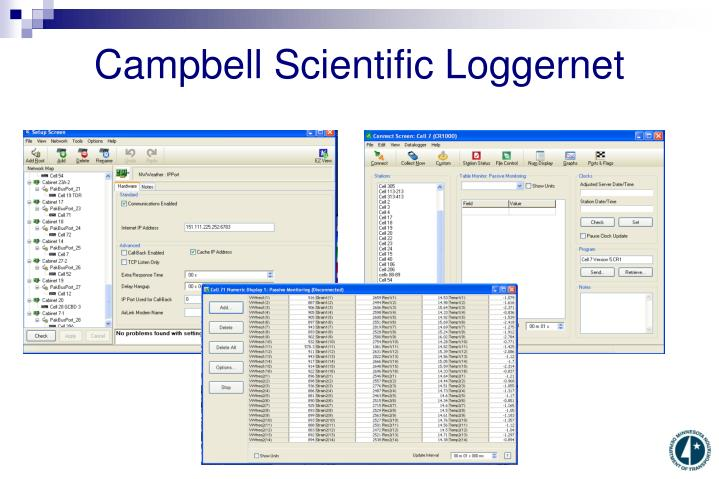 Campbell Scientific Loggernet