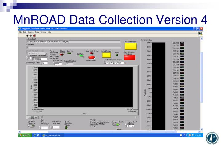 MnROAD Data Collection Version 4