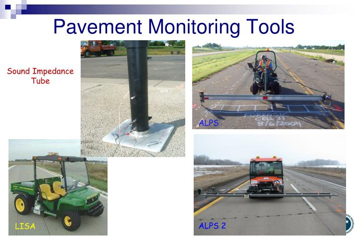 Pavement Monitoring Tools