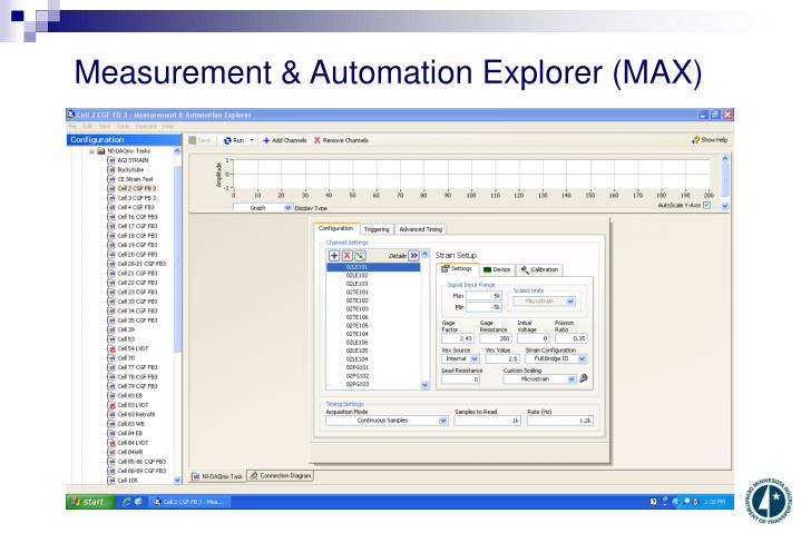 Measurement & Automation Explorer (MAX)