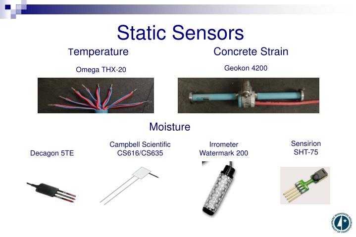 Static Sensors