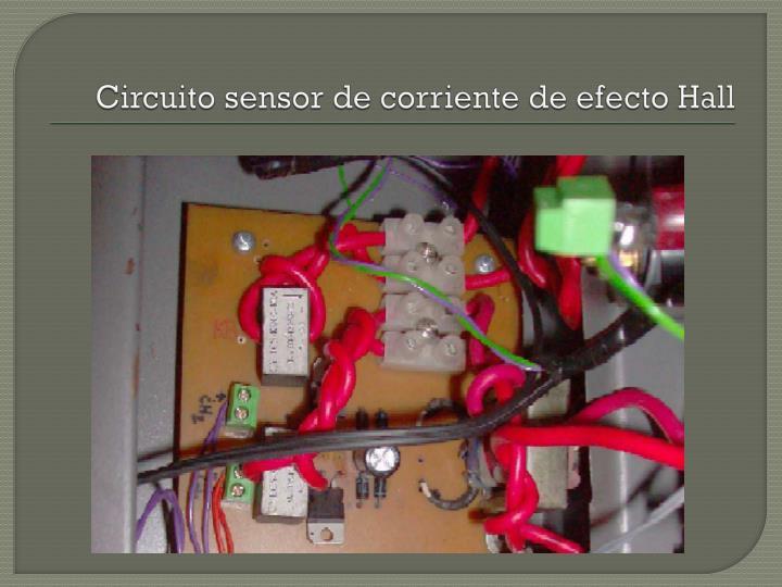 Circuito sensor de