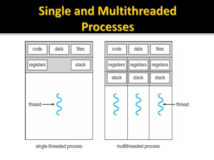 Single and Multithreaded Processes