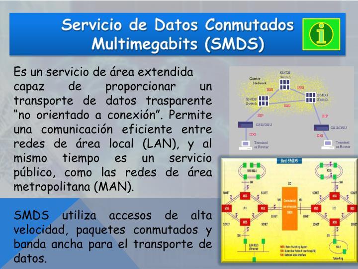 Servicio de Datos Conmutados