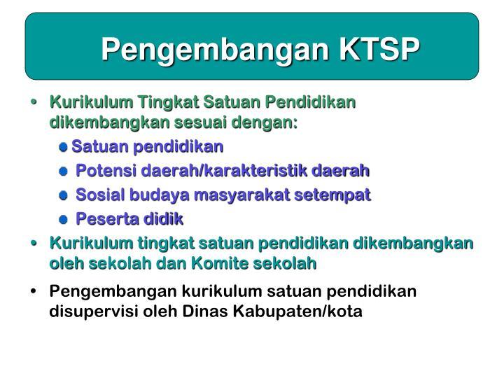 Pengembangan KTSP