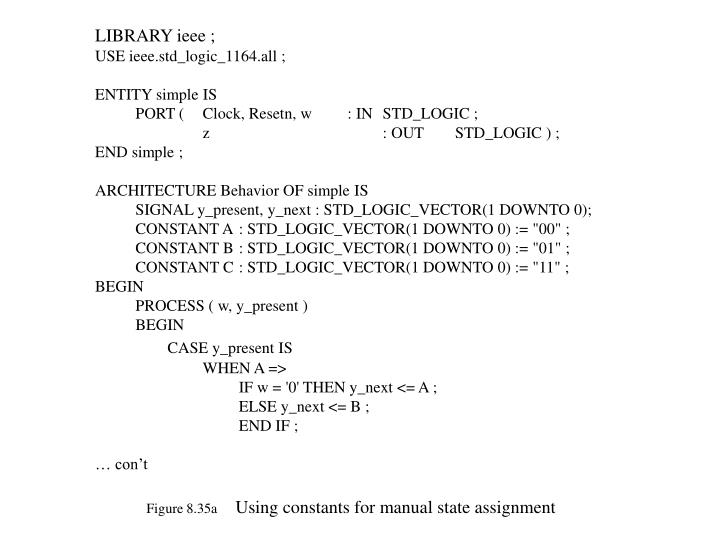 LIBRARY ieee ;