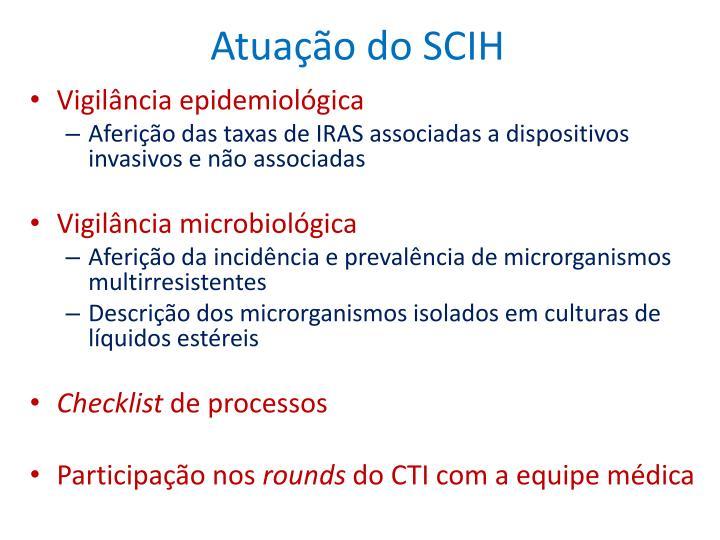 Atuação do SCIH