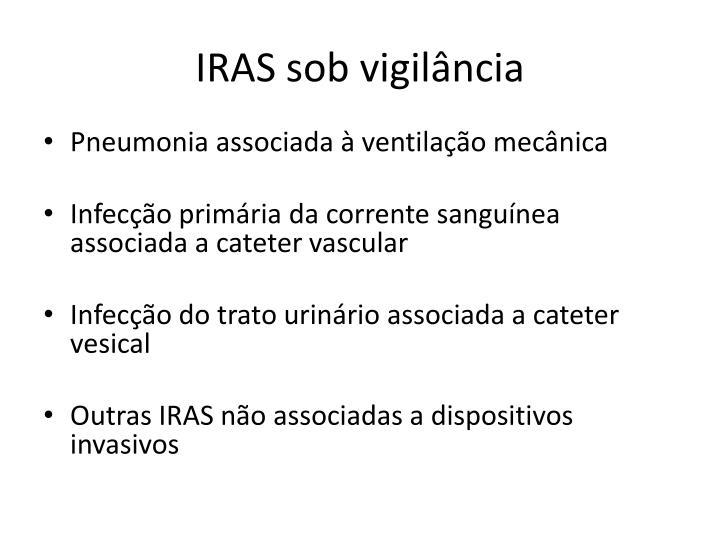 IRAS sob vigilância