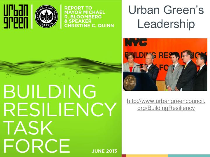 Urban Green's Leadership