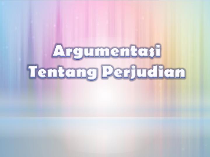 Argumentasi