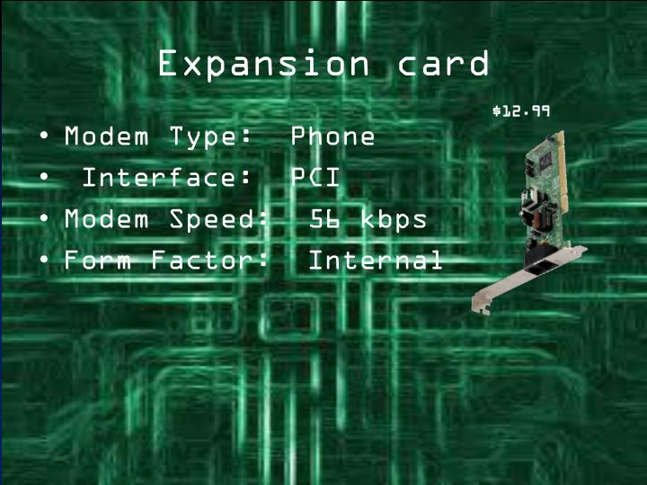 Expansion card