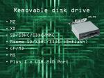 removable disk drive