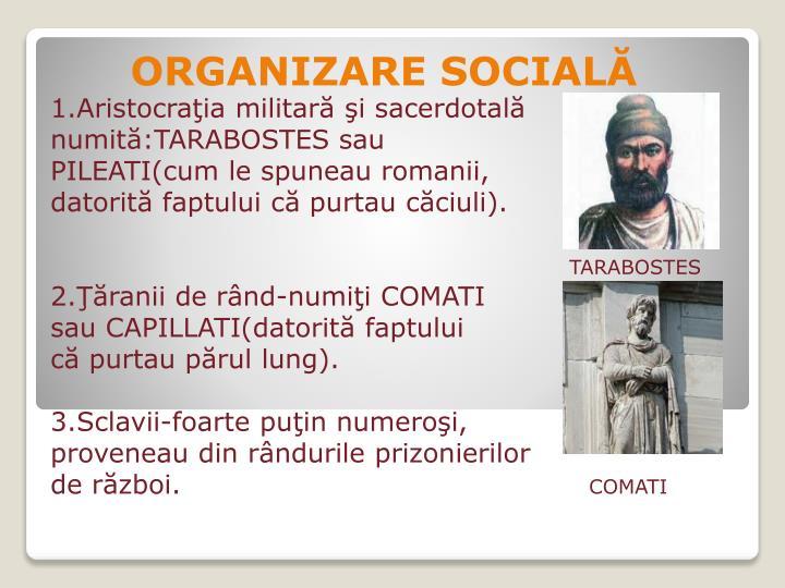 ORGANIZARE SOCIALĂ