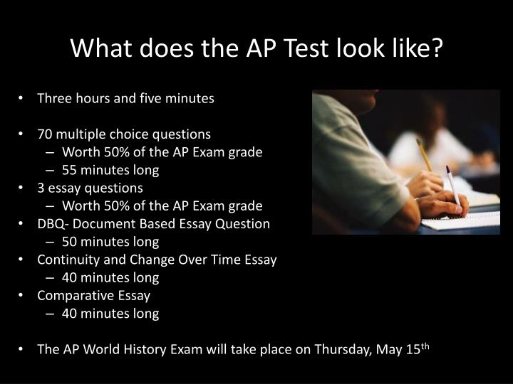 What does the AP Test look like?