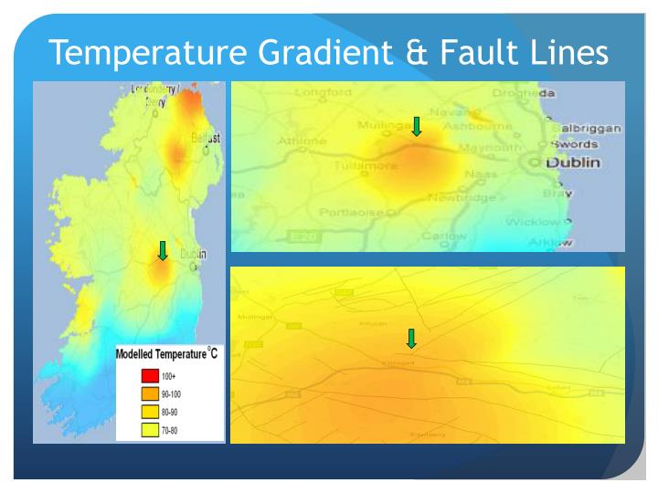 Temperature Gradient & Fault Lines