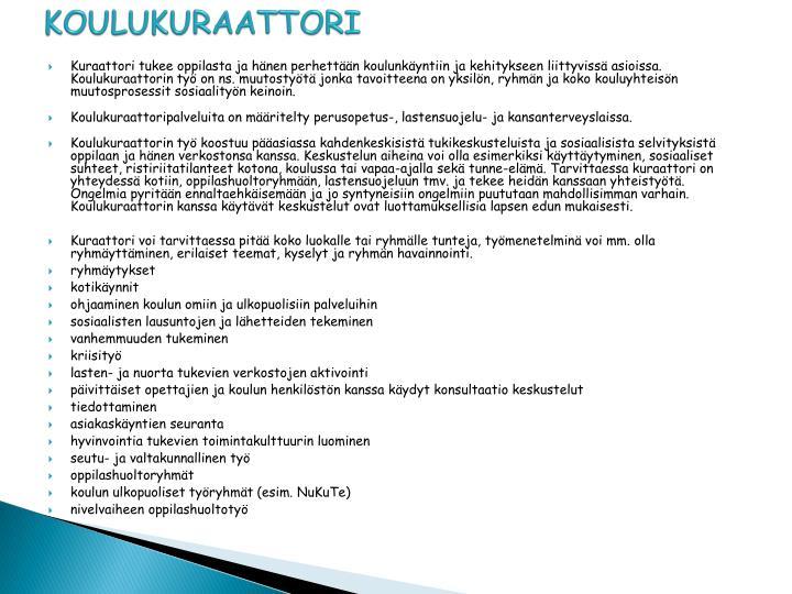 KOULUKURAATTORI