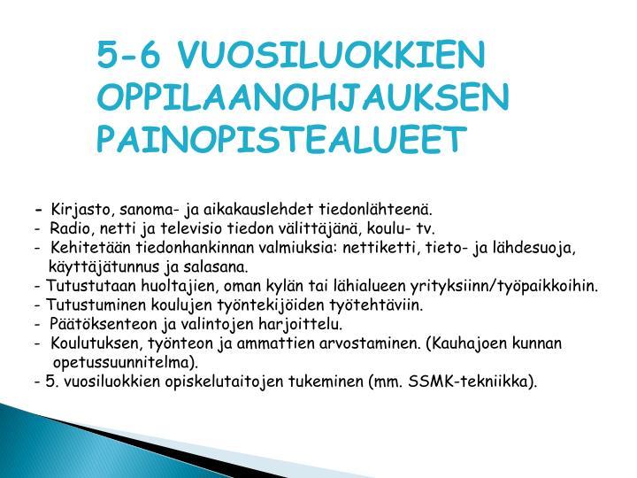 5-6 VUOSILUOKKIEN