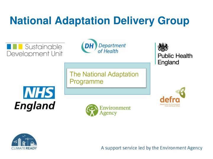 National Adaptation Delivery Group