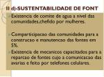 ii d sustentabilidade de font