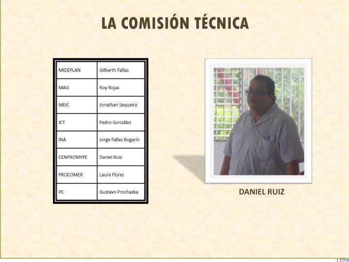 LA COMISIÓN TÉCNICA