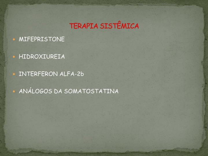 TERAPIA SISTÊMICA