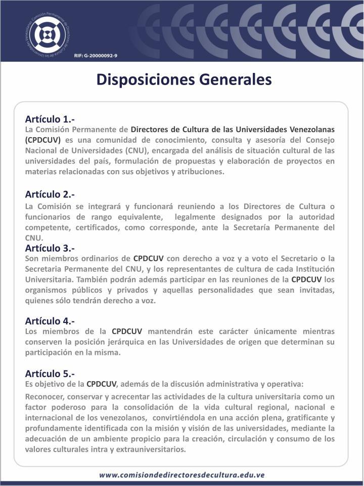 Artículo 1.-