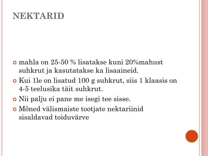 NEKTARID